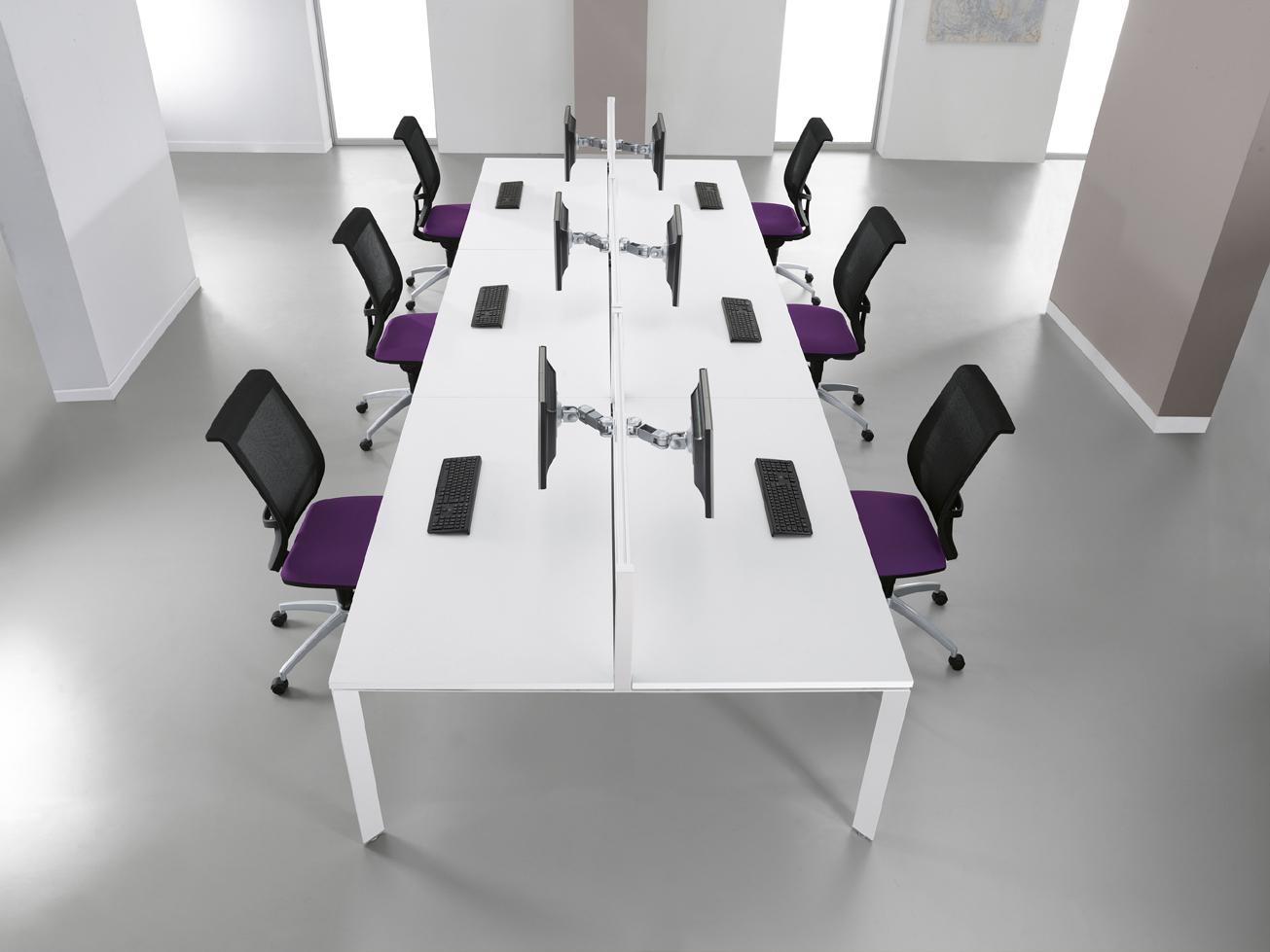 Modern Desk White Purple Weaver Bomford White Modern Desk Plan Ideas