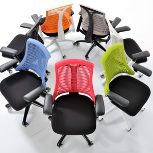 Coloured operator chairs