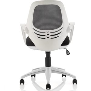White operator chair
