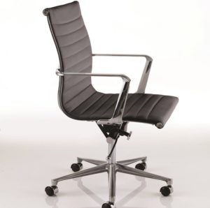 Executive modern chrome chair