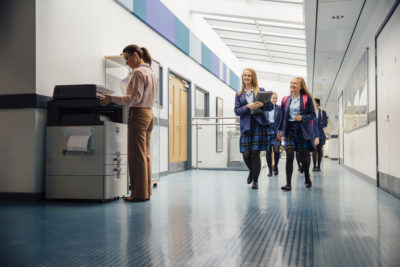 school printing bills